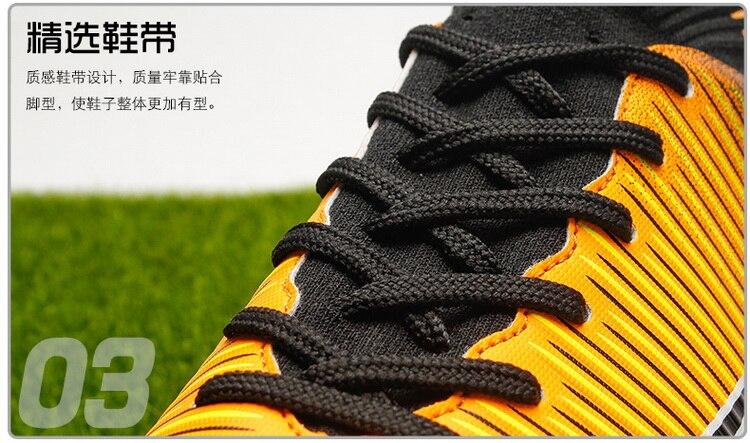de futebol longas spikes & picos curtos
