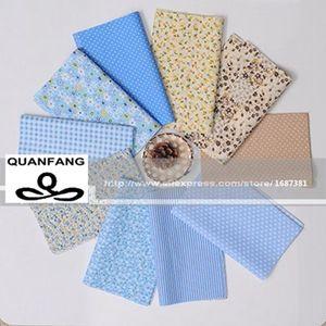 Image 4 - Random Thin Cotton Fabric Patchwork For Sewing Scrapbooking Fat Quarters Tissue Quilt Pattern Needlework Scraps 80pcs 20*24cm