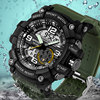 SANDA Army Military Sport Watch Men Watches Top Brand Luxury Electronic LED Digital Wristwatch For Male