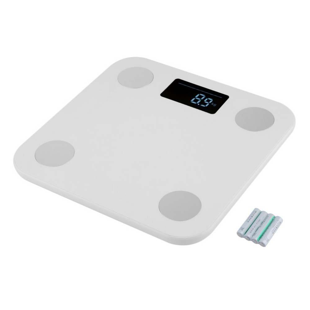 Max.150KG Mini Smart Weighting Scale Digital Household Body Scale LCD Display Electronic Weight Balance 2018 New Sale mini smart weighting scale digital household body scale lcd display electronic weight balance health care new