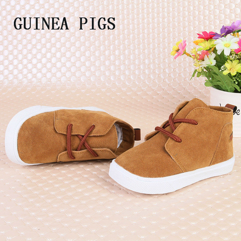 Autumn New Fashion Children Shoes Baby Girls Super Soft Comfortable Boys Suede Toddler Casual Shoes Chaussure SKHEK       Brand