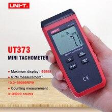 Digital Laser Tachometer UNI-T UT373 Non-Contact Tachometer 10-99999RPM Range Odometer Km/h Auto range Data hold LCD backlight uni t ut373 handheld lcd digital tachometer speedometer tach meter measuring rang 0 99999 count