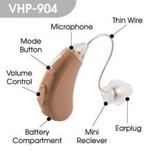904 Aparelho Auditivo regulowany cyfrowy aparat słuchowy Mini aparaty słuchowe urządzenie chiny tanie wzmacniacz dźwięku do ucha