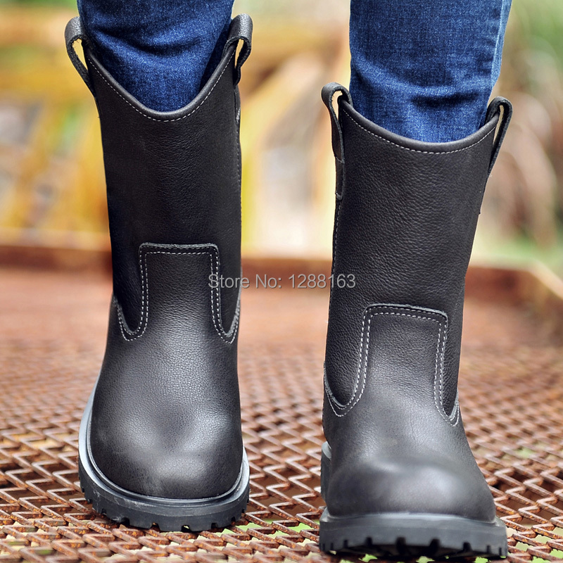 mens designer dress boots Picture - More Detailed Picture about ...
