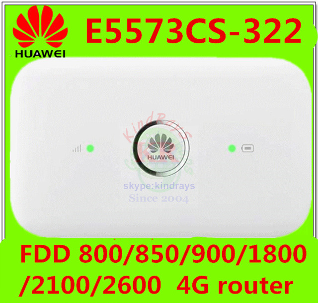 Huawei e5573 4G LTE Mobile Hotspot Wifi – 150Mbps International Travel