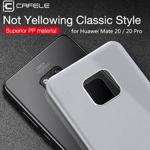 Original CAFELE Phone Case for Huawei Mate 10 20 Pro P20 pro Ultra-thin Matte PP Mobile Luxury Back Shell
