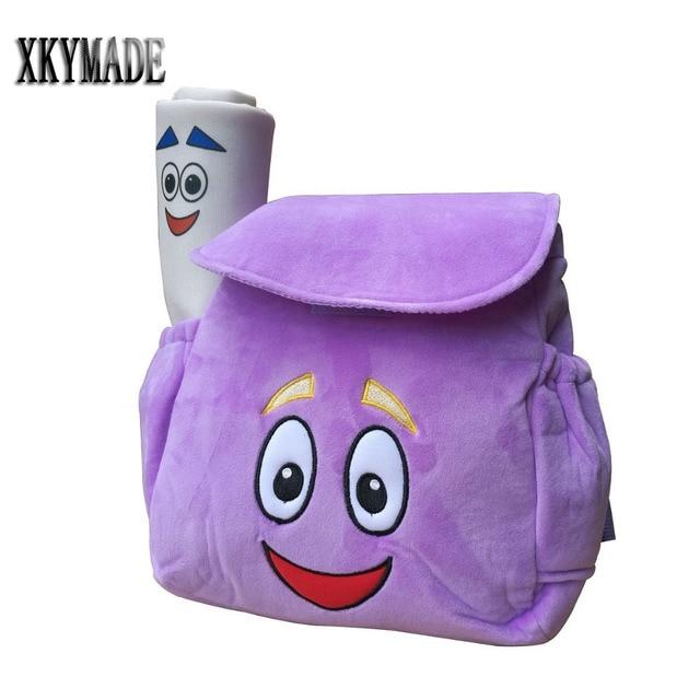 Purple Dora Explorer Backpack Rescue Bag with Map,Pre Kindergarten on