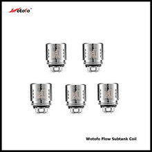 5Pcs/Pack Original Wotofo Flow Subtank Coil Replacement Atomizer 0.25ohm Coil Heads for Flow Subtank Vaporizer with High Quality