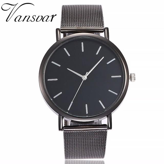 Hot Sale Women Rose Gold & Silver Wristwatches Fashion Luxury Women Simple Dial Quartz Watches Gift Clock Relogio Feminino
