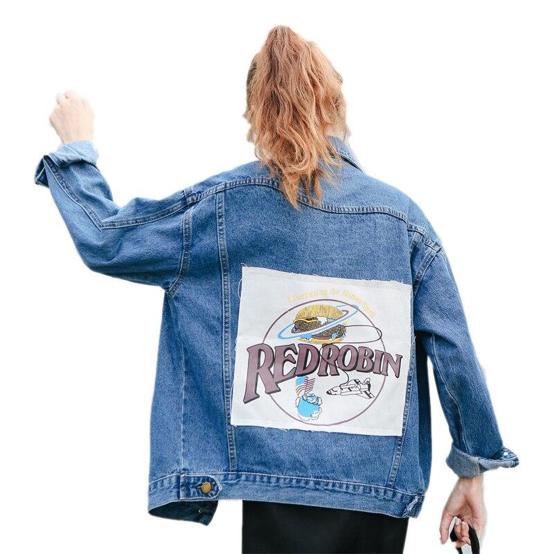 Arrival Style New Turn Jackets Blue 2018 Single Regular Full Preppy Standard Print Collar down Breasted qt5wwd0