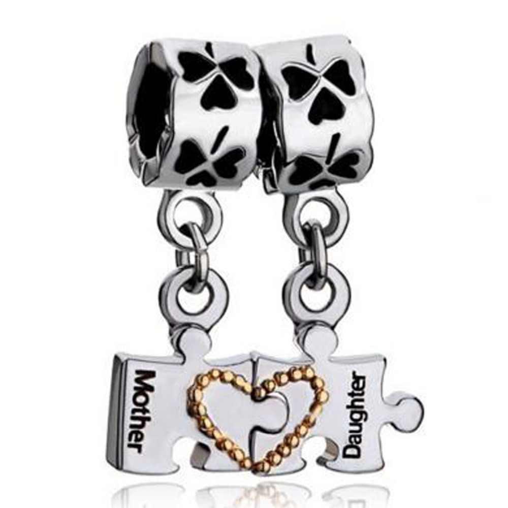 Mother Daughter Bracelet Heart Love