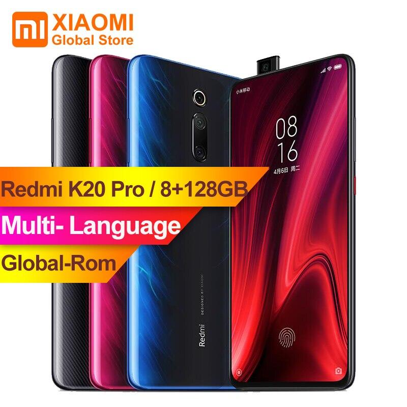 Globale ROM Xiaomi Redmi K20 Pro 8GB 128GB Schermo Intero 48 Milioni di Super Wide-angolo Del Telefono Mobile pop-up Anteriore Fotocamera Dello Smartphone