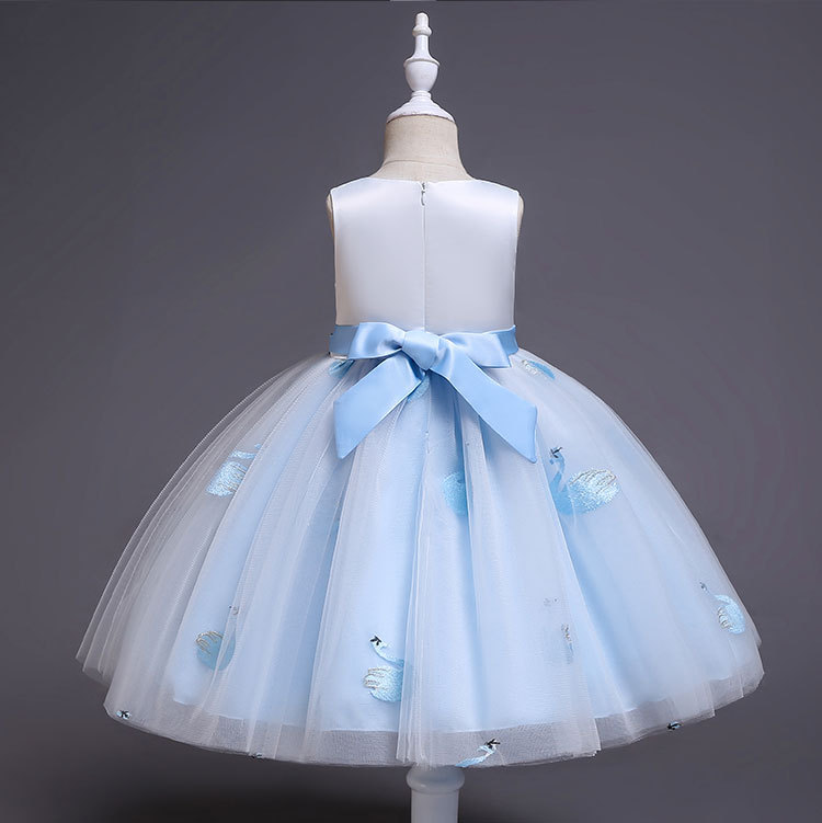 HTB14BIPaznuK1RkSmFPq6AuzFXaD New Unicorn Dress for Girls Embroidery Ball Gown Baby Girl Princess Birthday Dresses for Party Costumes Children Clothing