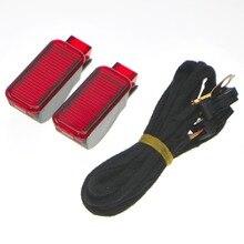 Двери автомобиля Панель подкладке красный предупреждающий свет + КАБЕЛЬ жгута проводов для Q3 Q5 TT A3 S3 A6 S6 A4 s4 RS3 RS4 8kd 947 411 8kd947411