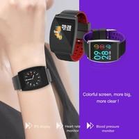 Sports Smart Outdoor IP67 Waterproof Rechargeable Touch Screen Distance Record Alarm Sleep Tracker outdoor tool
