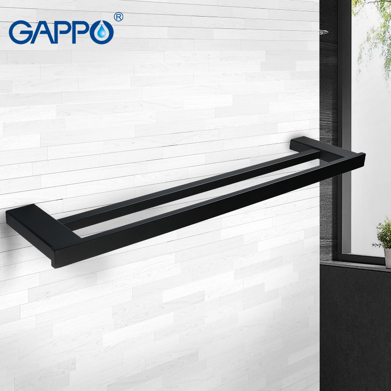 GAPPO Towel bars wall mounted accessories towel bars bathroom towels holders bathroom towels holders bar                        GAPPO Towel bars wall mounted accessories towel bars bathroom towels holders bathroom towels holders bar
