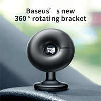 Baseus Universal Magnetic Car Phone Holder In-Car Mobile Holder Cell Phone Holder Stand For iPhone Sumang 360 Degree Magnet