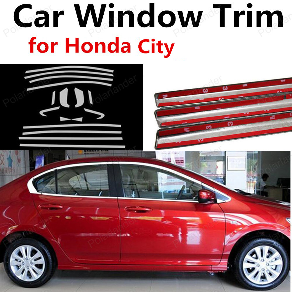 hot sell For Honda City Stainless Steel Car Accessories Decoration ...