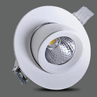 Rotate 360 degrees 12W 15W LED COB chip downlight Dimmable Recessed LED Ceiling light Spot Light Lamp White/ warm white