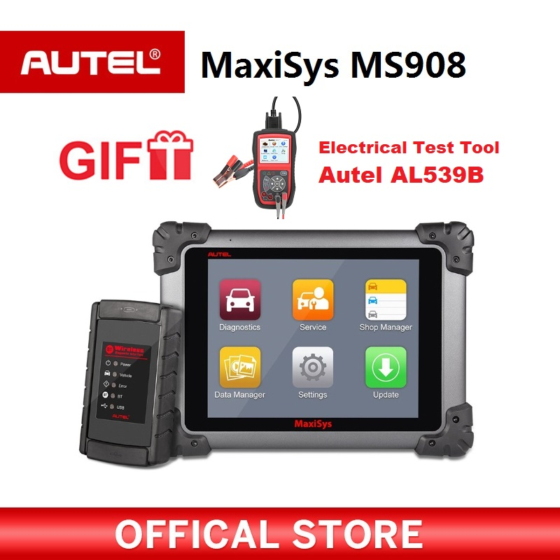 Autel Maxisys MS908 Automotive Diagnostic Tool Scanner Analysis System with All Systems Diagnosis Advanced Coding Gift AL539B advanced analysis page 4
