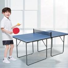 Профессиональные мини складные столы для настольного тенниса для родителей и детей, студентов, взрослых, для игры в мяч в помещении 182(L)* 91(W)* 76(H) см 28 кг