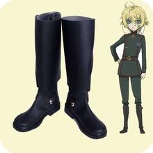 Saga of Tanya the Evil Cosplay shoes Youjo Senki Tanya von Degurechaff Anime boots Custom-made tanya bakes