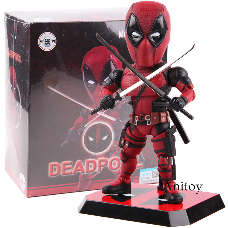 Mutation Arts Deadpool 2 Figure PVC Action Figure Deadpool Marvel Collectible Model Toy 17.5cm deadpool action figure mavel toy breaking the fourth wall pvc deadpool figure collectible model toys marvel figures 20cm
