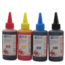 400ML uniwersalny wkład tuszu zestaw dla drukarka epson barwnik zbiornik z atramentem wszystkie modele 4 kolorów CISS kaseta każda butelka 100ml tanie tanio BLOOM for epsonink Zestaw wkładem