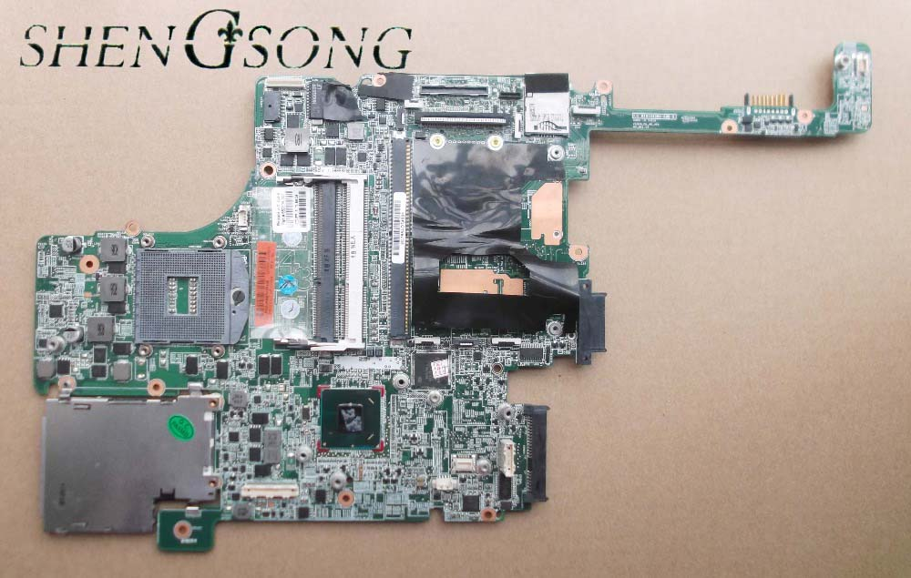 684319-001 684319-501 motherboard for hp elitebook 8560W Notebook PC System board QM67 with graphics slot 100% tested ноутбук hp elitebook 820 g4 z2v85ea z2v85ea