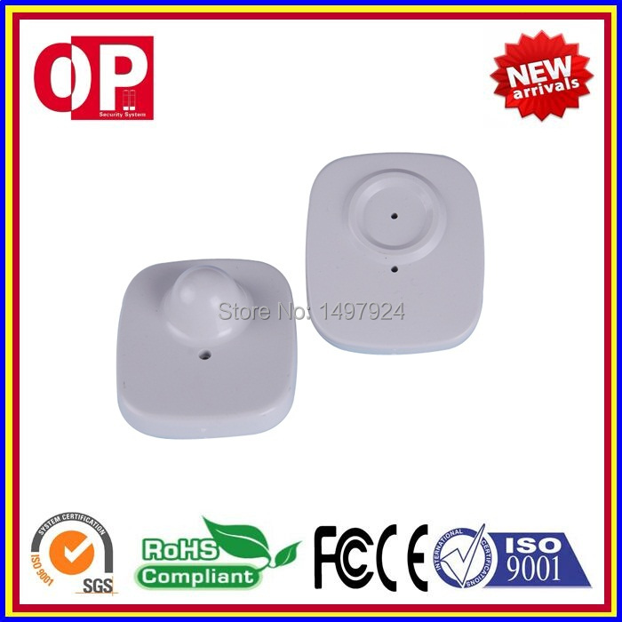 2018 Super 100% ABS eas hard tag clothing alarm hard tag rf security alarm tag+ 1 pc EAS detacher 5500gs