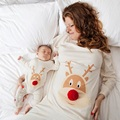 Mommy and Me Mother Son Outfits Mom and Daughter Clothes Mum Sweatshirt Newborn Baby Rompers Pajamas Family Matching Clothes