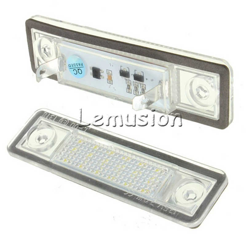 1 paire voiture LED numéro plaque d'immatriculation lumière 12 V SMD lampe à LED voiture style pour Opel Astra G Astra F Corsa B Zafira A Vectra B Omega A