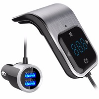 BC39 Wireless Bluetooth FM Transmitter FM Modulator HandsFree Car Kit Radio Adapter USB Charger MP3 Music Player