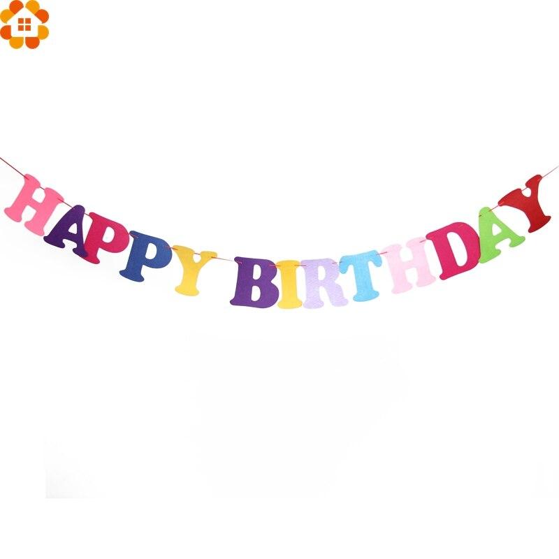 Aliexpress.com : Buy 1Set 2.5M DIY Happy Birthday