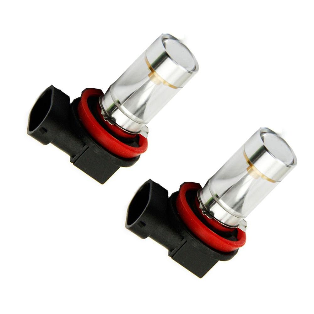 AUTO H11 30W Fog Light 6000K XBD 720 LM Auto Car DRL Lamp Bulb Headlight car-styling car light auto car styling Au 06 дефлектор auto h k gt 36964