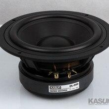 1 шт. Kasun DL-600 6,5 ''СЧ/СЧ-динамик, блок драйвера, литая алюминиевая корзина, Черный ПП Конус Fs = 36 Гц 8 Ом 180 Вт d179мм