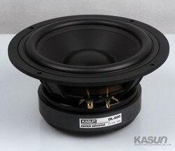 1PCS Kasun DL-600 6.5 Midrange/Midwoofer Speaker Driver Unit Casting Aluminum Basket Black PP Cone Fs=36Hz 8ohm 180W D179mm
