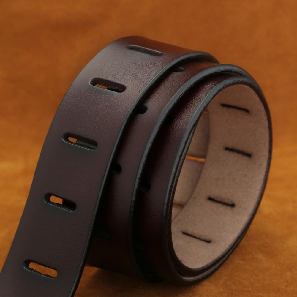 [MILUOTA] Designer Belts Men High Quality Genuine Leather Belt for Men Luxury Ceinture Homme Military Style 130CM MU012