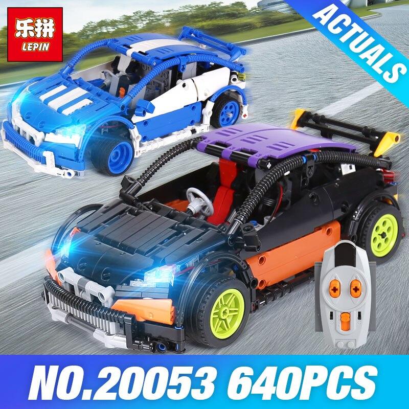 Лепин Technic 20053 хэтчбек Тип R игрушки MOC-6604 модель гоночный автомобиль DIY строительные блоки кирпичи наборы игрушек для детские кирпичи