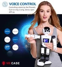 2016 Nuevo Robot Inteligente Programable Robot de Juguete Kits de Cámara de Vigilancia Casa Tutor de Chat de Voz Reproducir Música