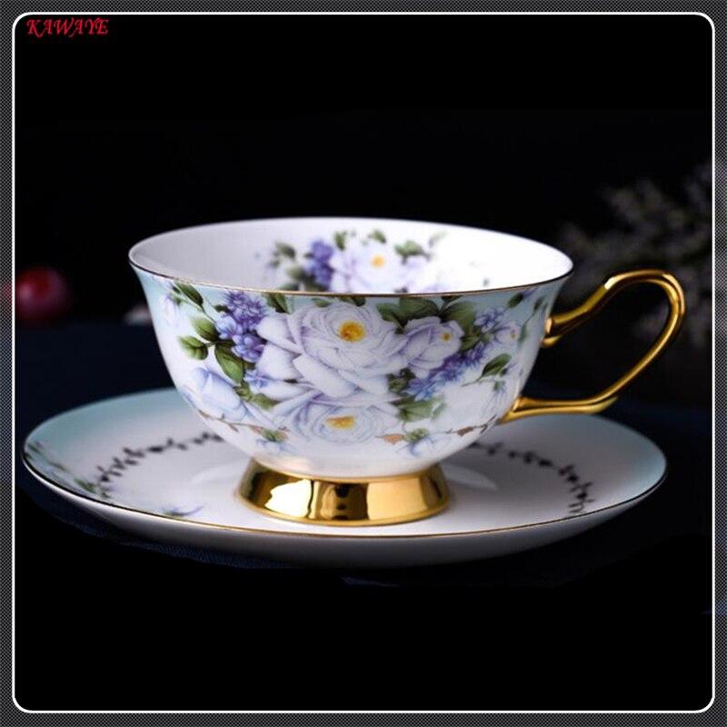 Haute porcelaine soulagement après-midi thé café ensemble porcelaine tasse à café en porcelaine tasse à café européenne en céramique tasses et soucoupes 5ZDZ478