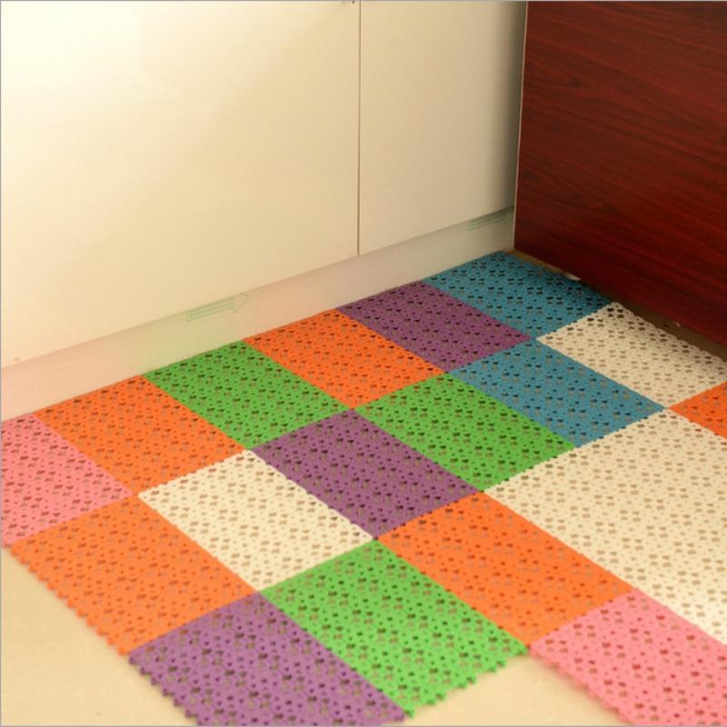 Candy Color Plastic Bath Mat Simple
