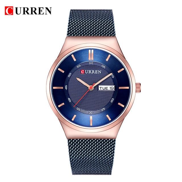 a4cf2899c64e 2018 relojes de hombre Top marca de lujo curren 8311 hombres únicos deportes  reloj de hombre