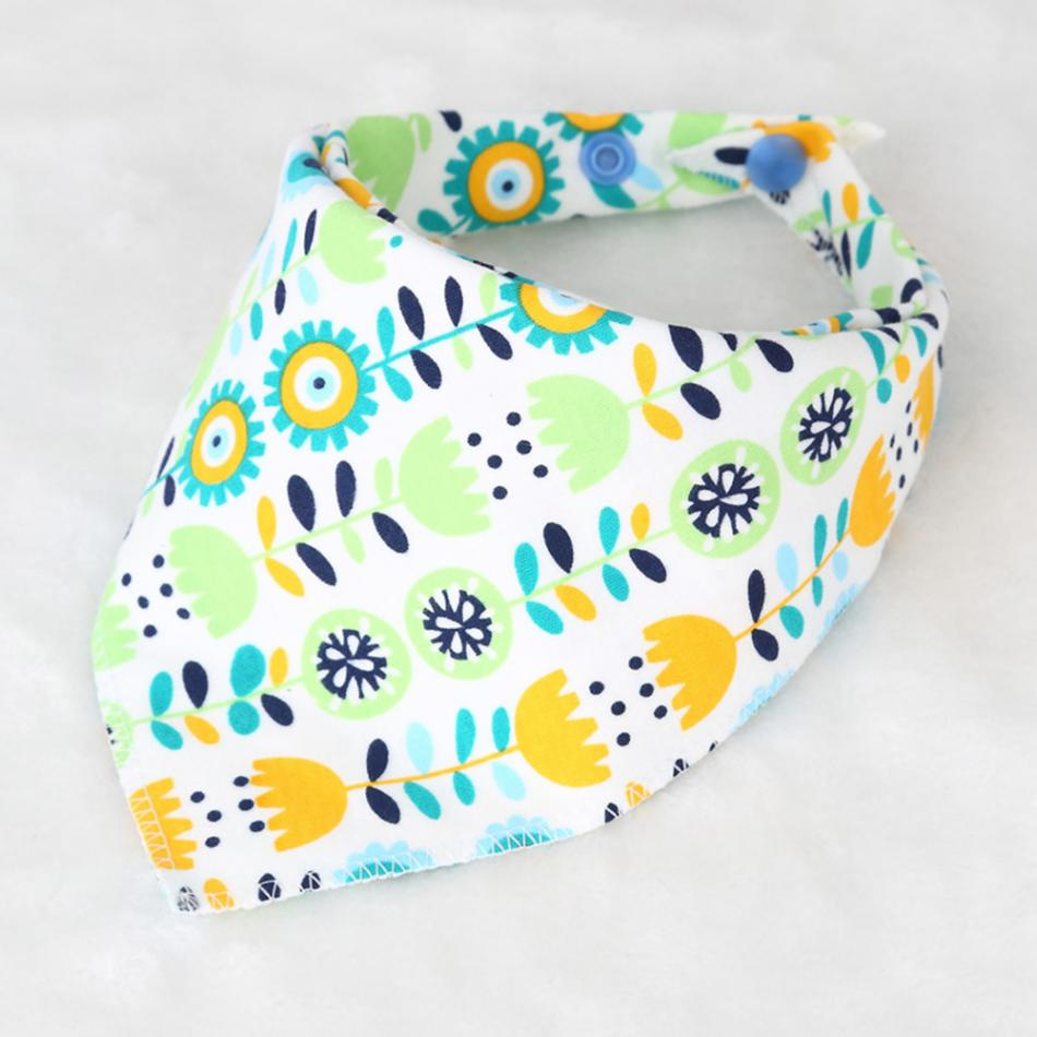 Baby Infant Bandana Bibs for Toddllers Soft Cotton Saliva Towel Baby Bibs Triangle Scarf Dribble Bibs Baby Feeding Towel