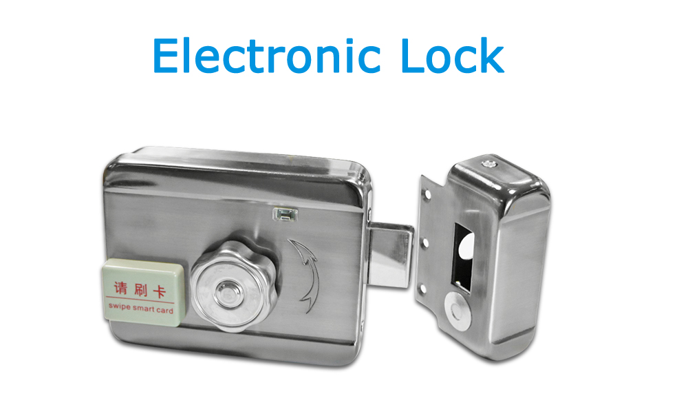 JeaTone Electric Lock To Build Your Video Intercom System