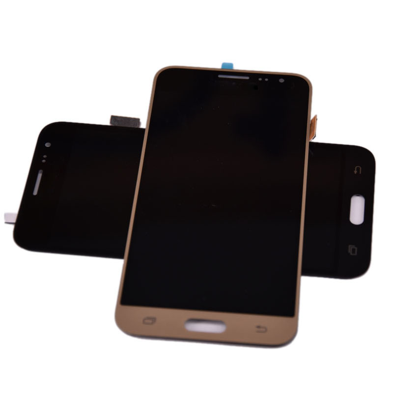 HTB14BO2aojrK1RkHFNRq6ySvpXat For Samsung Galaxy J3 2016 J320 J320A J320F J320M LCD Display With Touch Screen Digitizer Assembly Can be adjust the brightness