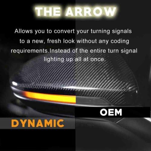 Течет динамический последовательного зеркало заднего вида указатель поворота Passat B7 CC Jetta MK6