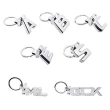 Car Styling Metal Key Ring for Mercedes Benz AMG A B C E S ML Class W204 W205 W211 W210 W212 W168 W140 Keychain Auto Key Chain цена 2017