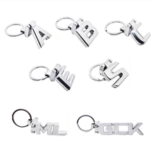 Car Styling Metal Key Ring for Mercedes Benz AMG A B C E S ML GLK Class W204 W205 W211 W210 W212 W168 W140 Key Chain Auto Key
