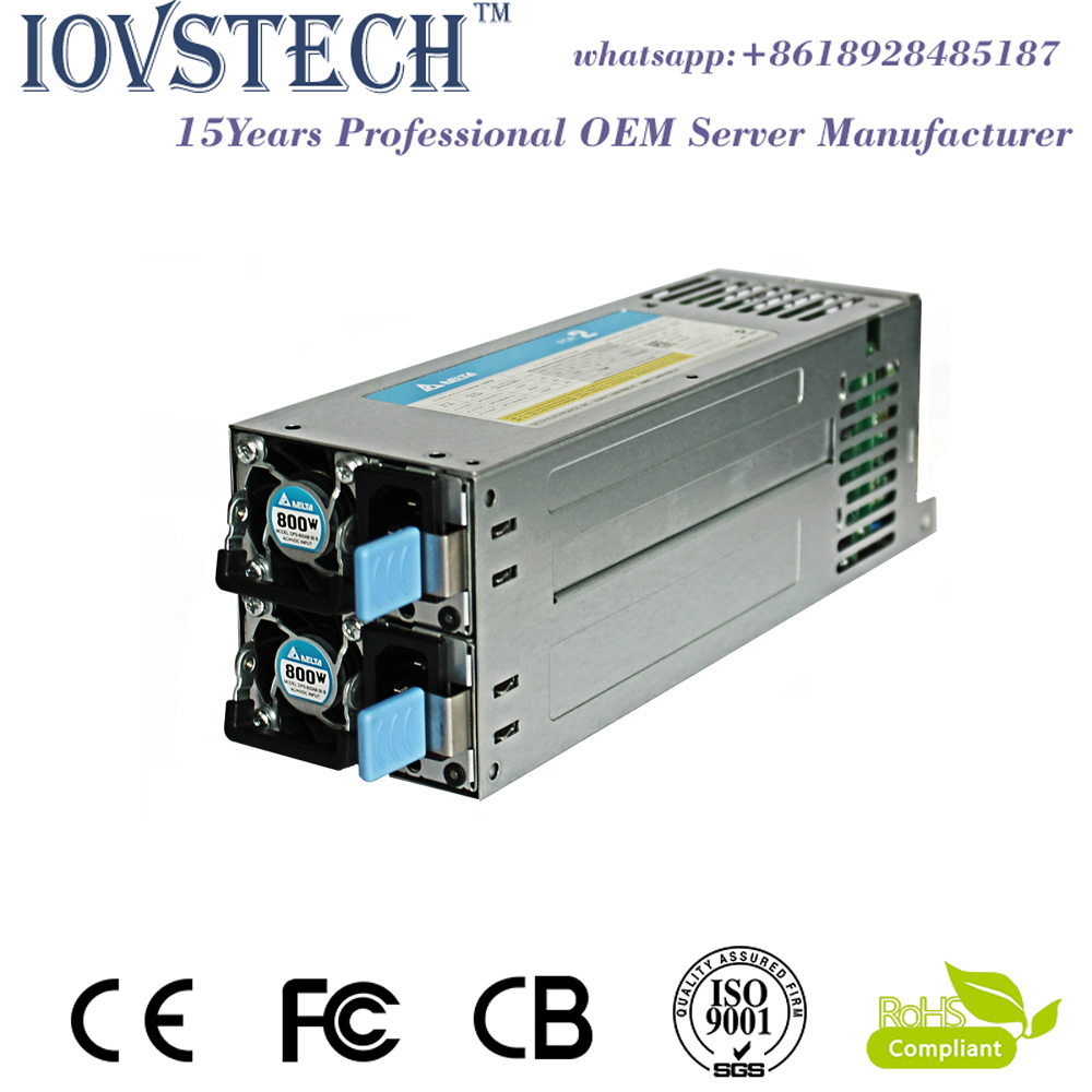 High-efficiency saved energy 2U redundant 800W 80 plus power supply for2U/3U Server chassis cloud computing and sustainability energy efficiency aspects